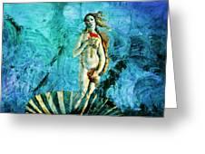Dreams Of Venus Greeting Card