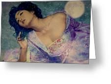 Dreams Of Yang Guifei Greeting Card