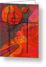 Dreamscape 06 - Tangerine Dream Greeting Card by Mimulux patricia no No