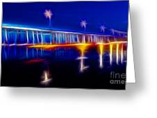 Dreamtime Pier Greeting Card