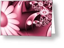 Dreamy Flower Garden Greeting Card