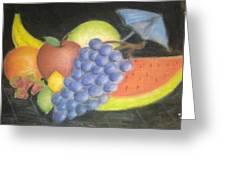 Dreamy Fruit Greeting Card