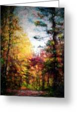 Dreamy Nature Walk Greeting Card