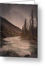 Dreamy River Greeting Card