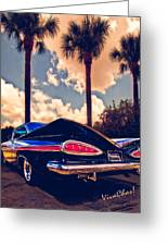 Dreemy 59 Impala - How Do U Live W/o It? Greeting Card