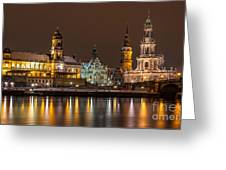 Dresden The Capital Of Saxony I Greeting Card