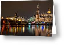 Dresden The Capital Of Saxony II Greeting Card