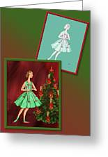 Dress Design 47 Greeting Card