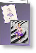 Dress Design 49 Greeting Card