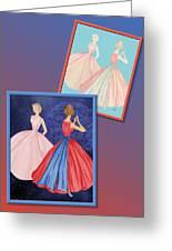 Dress Design 52 Greeting Card