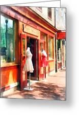 Dress Shop Fells Point Md Greeting Card