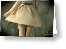 Dress Twirl Greeting Card by Craig B