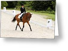 Dressage Test Greeting Card