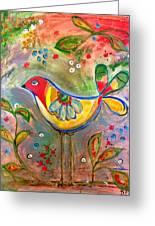 Drew Bird Greeting Card