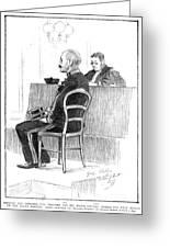 Dreyfus Affair 1899 Greeting Card