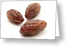 Dried Medjool Dates Greeting Card