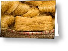 Dried Rice Noodles 04 Greeting Card