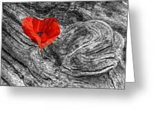 Drifting - Love Merging Greeting Card