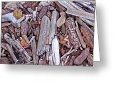 Driftwood Patterns Greeting Card