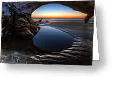 Driftwood Pools Greeting Card