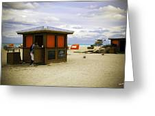 Drink Of The Day - Miami Beach - Florida Greeting Card