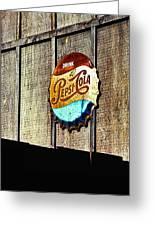 Drink Pepsi Cola Greeting Card by Ron Regalado