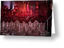 Drink Red Greeting Card