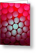 Drinking Straws Greeting Card