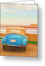 Drive To The Shore Greeting Card
