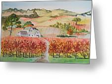 Driving Through Paso Robles Greeting Card