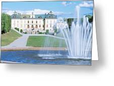 Drottningholm Palace, Stockholm, Sweden Greeting Card