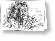 Drtero Agolli Albanian Writer Greeting Card