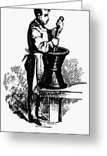 Druggist, 19th Century Greeting Card