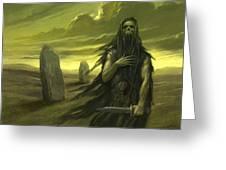 Druid Ghost Greeting Card