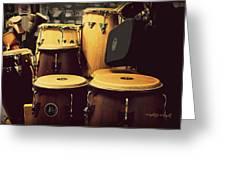 Drum Beat Greeting Card