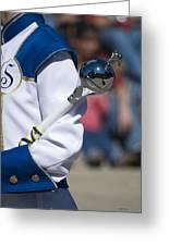 Drum Major Baton Greeting Card