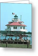 Drum Point Light Greeting Card