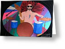 Drummer Greeting Card