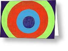 Drunk Circles Eight Greeting Card