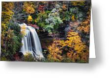 Dry Falls In Autumn Greeting Card