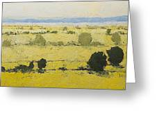 Dry Grass Greeting Card
