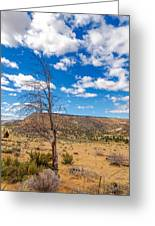 Dry Landscape Greeting Card
