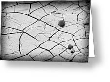 Cracks Of Time... Greeting Card