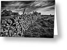 Dry Stone Walls Greeting Card