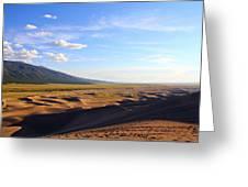 Dry Valley Vista Greeting Card