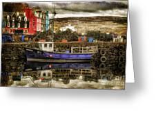 Tobermory Isle Of Mull Greeting Card