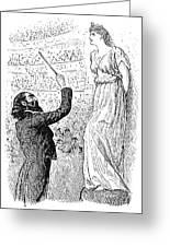 Du Maurier: Trilby, 1894 Greeting Card