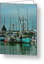 Duashala Fishing Boat Hdrbt4247-13 Greeting Card