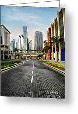 Dubai Greeting Card by Jelena Jovanovic