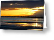 Dublin Bay Sunset Greeting Card
